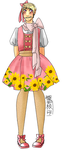 APH: Lolita named Sunflower shiney-- by Lil-Wang