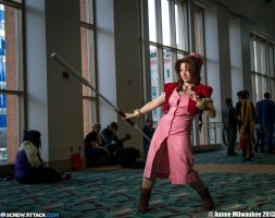 Aerith Debut by ShojO-ShortY