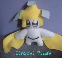 Jirachi Plush by CeltysShadow