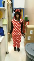 The Minnie Mouse Kigurumi outfit (front) by 8TeamFriends8