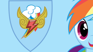 Rainbow Dash and the Element of Loyalty by Raizelmaxx