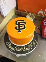 SF Giants Cake by Spudnuts
