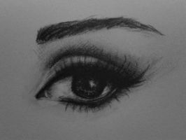 Audrey Hepburn - EYE DETAIL by Adriana2010
