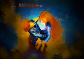 IchiHime Wallpaper by mdragonheartlove