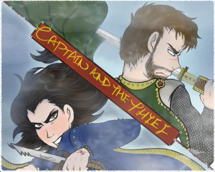 Captain and the Thief - COVER - NEW UPCOMING COMIC by BlackDiamond95