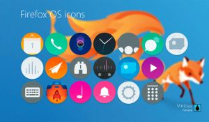 Firefox OS icons. by VCFerreira