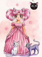 Little Lady, Luna and Artemis by Tyutya