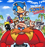 24 Years of Sonic by WaniRamirez