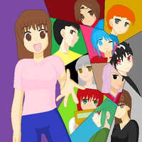 YYH Friends by perl7789