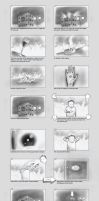 Storyboard for Head thrower by robertas