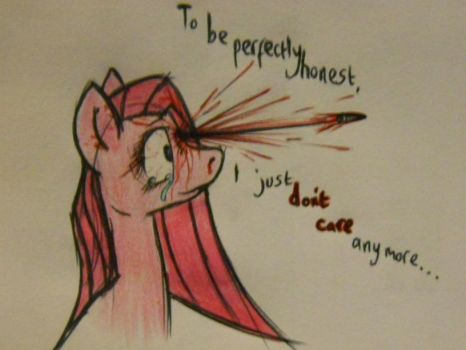 In All Honesty... by HaterThePony