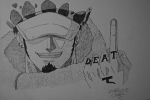 Trafalgar Law by Monstacookie