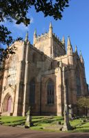 Dunfermline Abbey Side by MistressClaire13