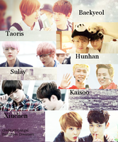 Exo Couples PNG by s3xyangel