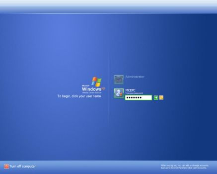 Windows XP MediaCenter Edition by thecat2000