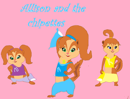 Allison and the chipettes p.js by AllisonChipette