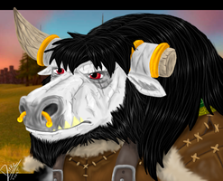 Ratilt -Tauren-Hunter by Dirke