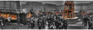 The Christmas Market by ombre-blanche
