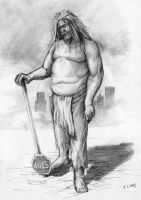 Neo-Neanderthal Concept by EthicallyChallenged
