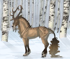 Bannon   Stag   Soldier by mule-deer