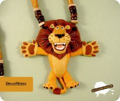 FIMO - Alex the Lion by buzhandmade