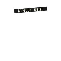 Almost Home Black Logo by smcveigh92