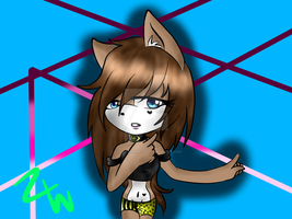 zoe the cat new look and new style of drawing by LittleChewrrie