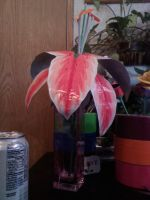 Duct Tape Stargazer Lily by SilenceWriter