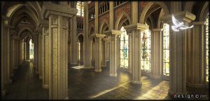 Gothic Cathedral_5 by Zorrodesign