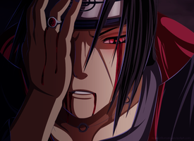 [Coloreo] Itachi Uchiha by Ric9Duran
