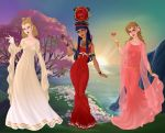 Goddesses of Love by WaterLily-Gems