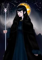 Lady of Eternal Night by CellyMonteiro