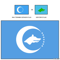 Flag of Turkic Union History by AY-Deezy