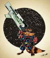 Rocket Racoon by JTF3