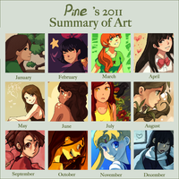 Art Summary 2011 by White-pine