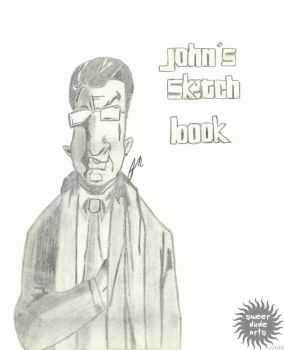 GTA Sketchbook Cover by PapaJohnny