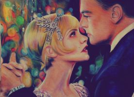 Daisy and Gatsby by ahsr