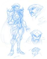 ME Female Prothean design Thing by BLACK-HEART-SPIRAL