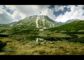 The Valley of the Five Lakes - The Small Lake by Beezqp