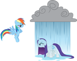 Rainbow Dash - Prank Success! by GoblinEngineer