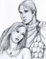 Prince Varmun and Princess A by dashinvaine