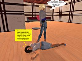 Molly and Gina in Second Life 5 by MollyFootman