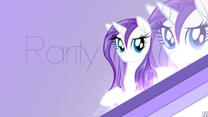 Rarity Wallpaper by OfficialApocalyptic