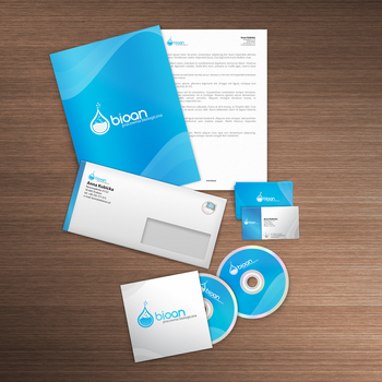 Bioan corporate identity by lukearoo