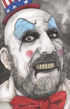 House of 1000 Corpses Captain Spaulding by ChrisOzFulton