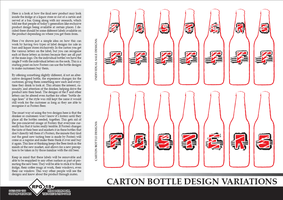Fosters Bottle Designs Varied by TheRolePlayingGame