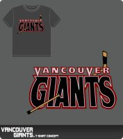 Vancouver Giants T-Shirt by rkz