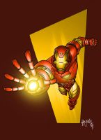 Iron Man by spidermanfan2099