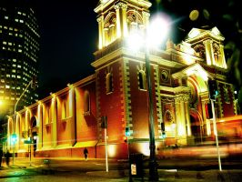 church IGLESIA SANTIAGO CHILE by Ceeesaar