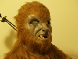 Wolfman Werewolf mask by shadowcast89